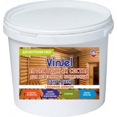 Impregnation for baths and saunas VinJel, 0,8 kg.